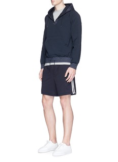 James Perse 'Yosemite' double stripe gym shorts