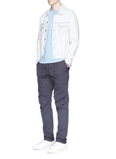 James PerseCotton poplin cargo pants