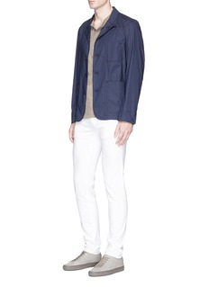 James Perse Brushed jersey Henley shirt