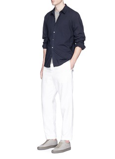 James Perse Cotton lawn shirt
