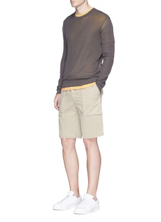 James Perse Combed cotton crew neck T-shirt