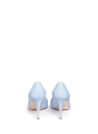 Back View - Click To Enlarge - Gianvito Rossi - 'Gianvito' suede pumps