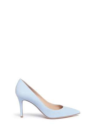 Main View - Click To Enlarge - Gianvito Rossi - 'Gianvito' suede pumps