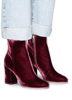 Gianvito Rossi 'Rolling' velvet boots