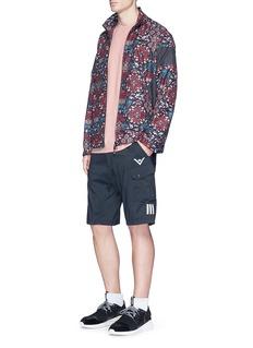 Adidas'Ornamental Block' botanical print track jacket