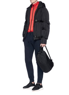 Cottweiler Buckle strap padded jacket