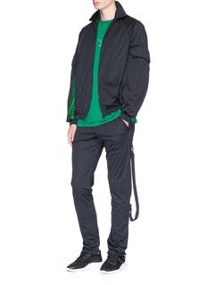 Cottweiler Contrast seam oversized pocket track jacket