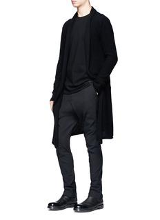 DEVOA Open front cashmere cardigan