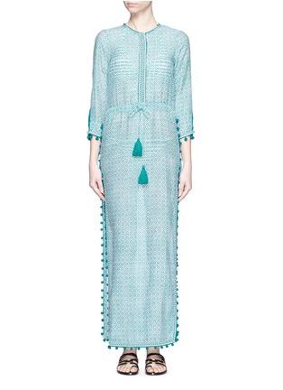 首图 - 点击放大 - TALITHA - Moroccan木刻版画印花罩衫