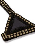 'Chacha' hand crochet triangle bikini top
