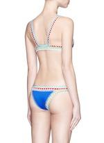 'Tuesday' hand crochet triangle bikini top