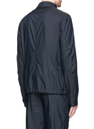 Back View - Click To Enlarge - Wooyoungmi - Grosgrain trim cotton blend coach jacket