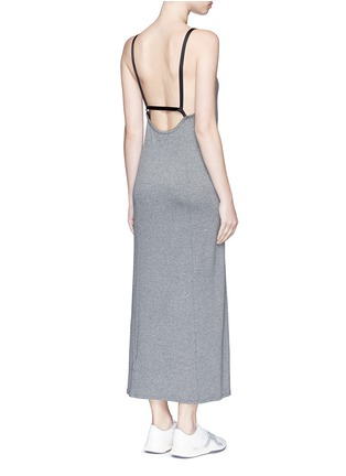 Figure View - Click To Enlarge - Live The Process - 'Linear' strap back maxi dress