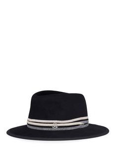Maison Michel 'André' beaded knit furfelt trilby hat