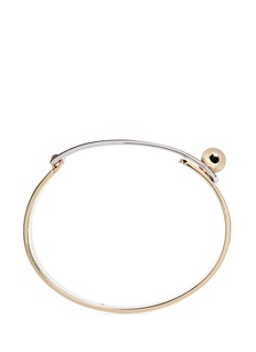 Eddie Borgo Layered plate bangle