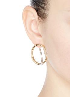 Charlotte Chesnais 'Turtle' single hoop earring