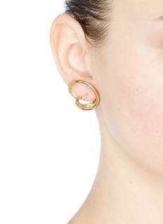 Charlotte Chesnais 'Round Trip' loop earrings