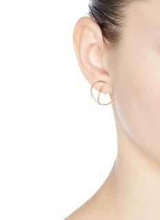 Charlotte Chesnais 'Saturn' small hoop earrings