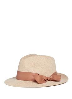Sensi Studio Wool felt fedora hat