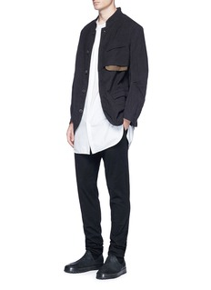 Ziggy Chen Pocket flap canvas jacket