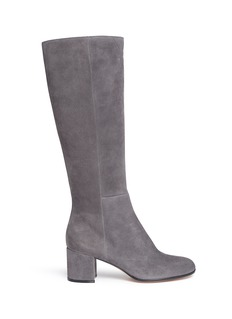 Gianvito Rossi 'Milton' knee high suede boots