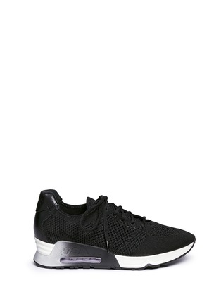 Main View - Click To Enlarge - Ash - 'Lucky' mix knit sneakers