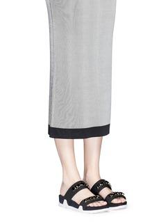 ASH'Oman' crystal strap neoprene sandals