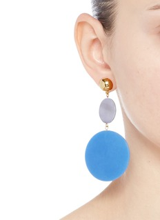 Elizabeth and James 'Carter' tiered coin charm earrings