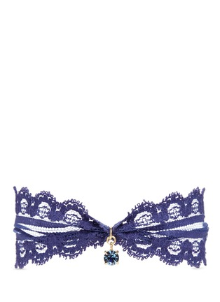 Main View - Click To Enlarge - Joomi Lim - 'Comme Antoinette' Swarovski crystal lace choker
