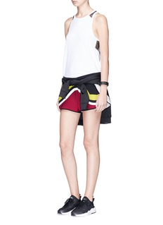 No Ka'Oi 'Hilo' colourblock track shorts
