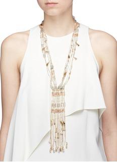 Rosantica 'Risveglio' tassel chain necklace