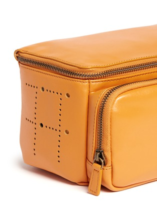 Detail View - Click To Enlarge - Tang Tang Tang Tang - Nappa leather washbag