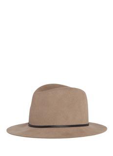 Janessa Leone'Lola' wool fedora hat