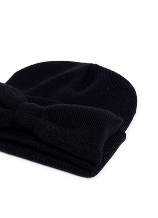 Detail View - Click To Enlarge - Bernstock Speirs - 'Jumbo Bow' beanie