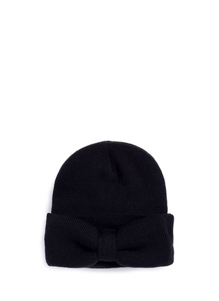 Main View - Click To Enlarge - Bernstock Speirs - 'Jumbo Bow' beanie