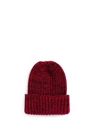 Figure View - Click To Enlarge - Bernstock Speirs - Snap tab rib knit beanie
