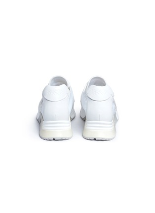 Back View - Click To Enlarge - Ash - 'Lucky Star' appliqué mixed knit sneakers