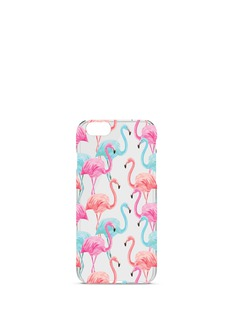 Charge Cords Flamingos iPhone 7 Plus case
