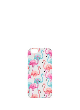 Main View - Click To Enlarge - Charge Cords - Flamingos iPhone 7 case