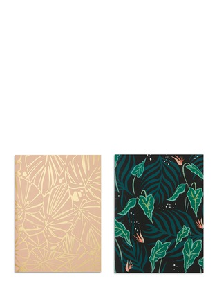 Main View - Click To Enlarge - Idlewild Co. - Lush Greens pocket notebook set