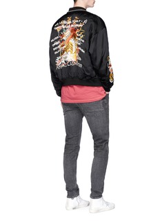 doublet'Chaos' embroidered souvenir jacket