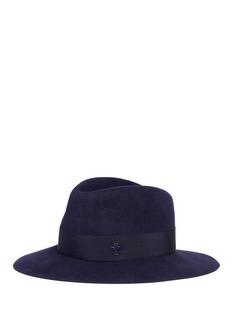 Maison Michel 'Henrietta' rabbit furfelt fedora hat