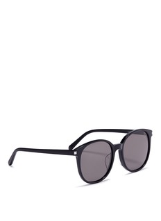 Saint LaurentOversized round acetate sunglasses