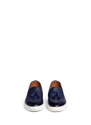 Figure View - Click To Enlarge - Doucal's - 'Mike' tassel leather loafers