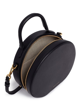Detail View - Click To Enlarge - Mansur Gavriel - 'Circle' leather crossbody bag