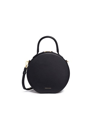 Main View - Click To Enlarge - Mansur Gavriel - 'Circle' leather crossbody bag