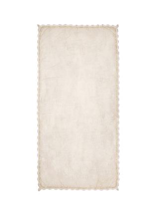 Main View - Click To Enlarge - Faliero Sarti - 'Milù' virgin wool-blend scarf