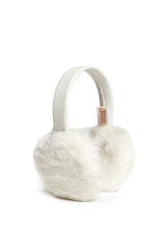 KARL DONOGHUEAlpine lambskin shearling suede band ear muffs