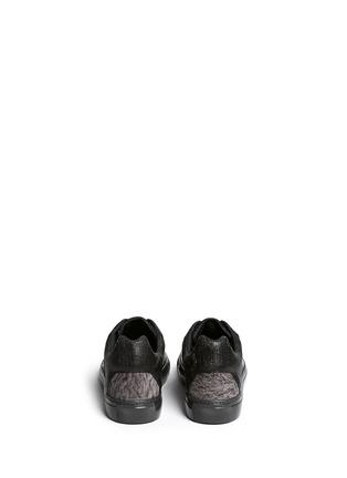 背面 - 点击放大 - BALENCIAGA - 皱褶感真皮拼贴球鞋