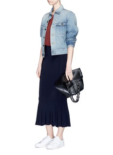 Norma KamaliJersey fishtail midi skirt